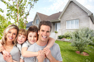 53391231-Happy-family-with-children-near-new-house-Construction-and-real-estate-concept--Stock-Photo